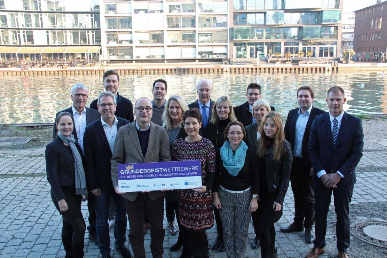 Die besten Businesspläne im Münsterland: Jury hat die fünf Finalisten des Gründergeist Wettbewerbs ausgewählt