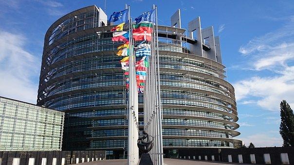 Europäisches Parlament in Straßburg Bild: Pixabay