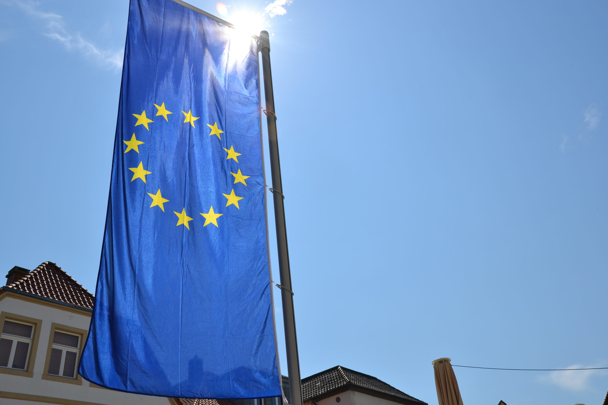 EU-Fahne Steinfurt