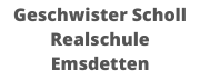 Geschwister Scholl Realschule Emsdetten