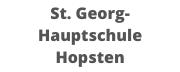St. Georg-Hauptschule Hopsten