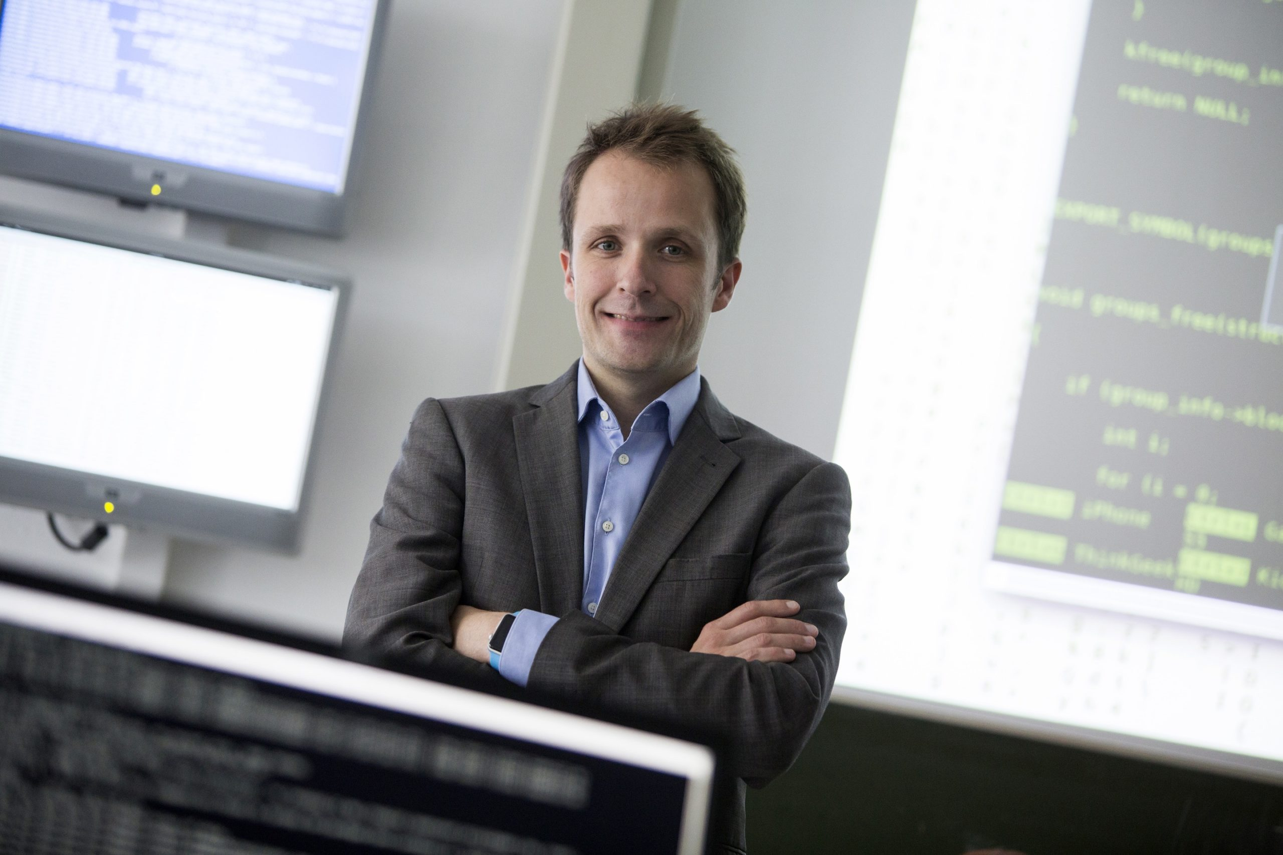 Prof. Sebastian Schinzel (c) Wilfried Gerharz