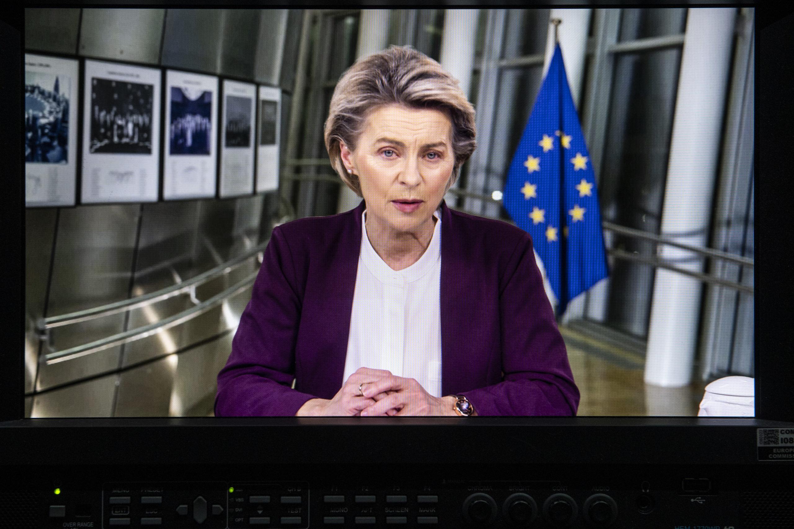 Präsidentin der EU-Kommission Ursula von der Leyen Bild: Europäische Union