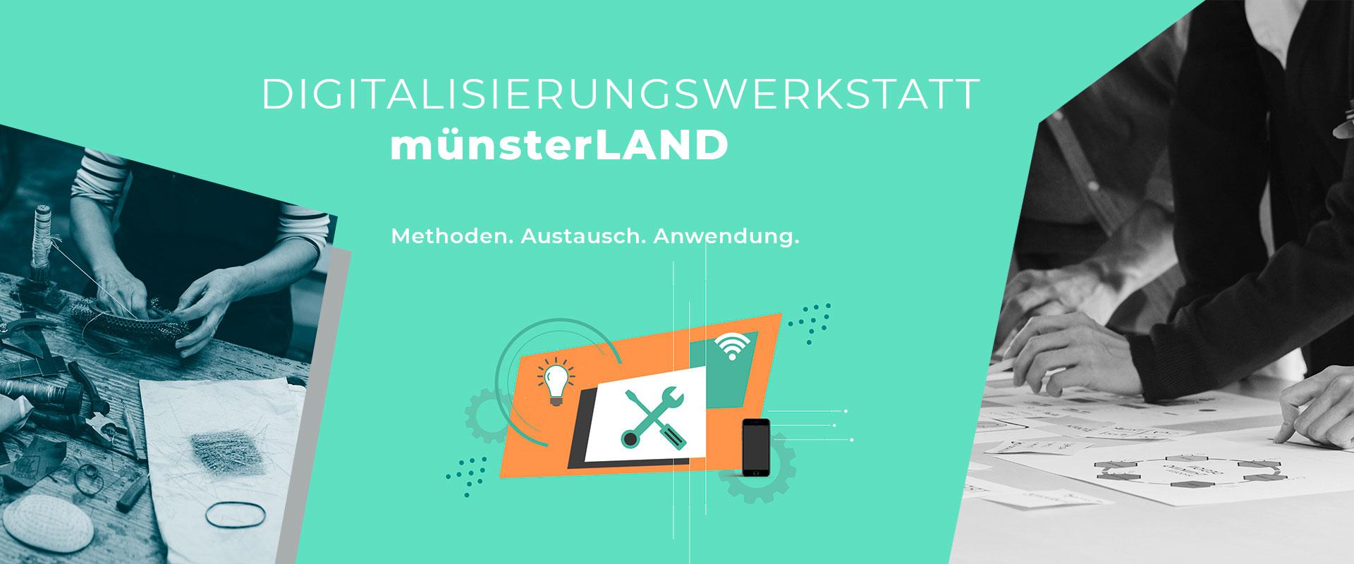 """Veranstaltungsreihe""""Digitalisierungswerkstatt-münsterLAND""""_Website"""